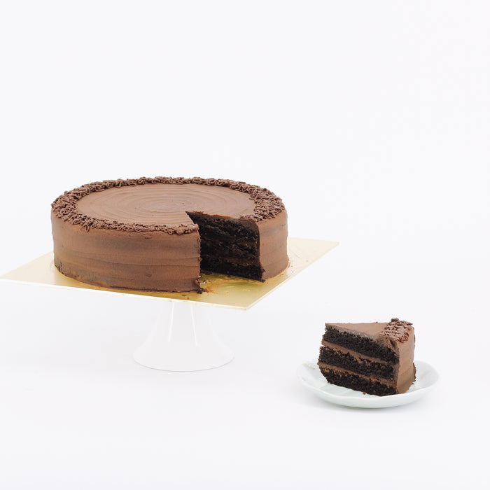 Chocolate Ganache 9 inch - Cake Together - Online Birthday Cake Delivery