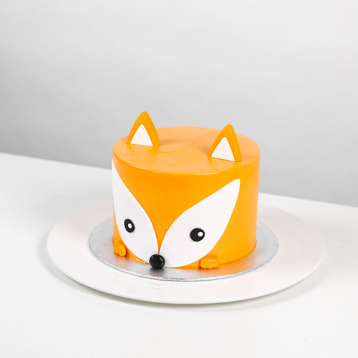 The Woodland Fox Cake 5.5 inch