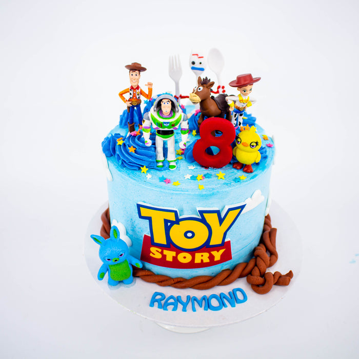 Fabulous Toy Story 4 Cake Cake Together Online Cake Delivery Personalised Birthday Cards Fashionlily Jamesorg