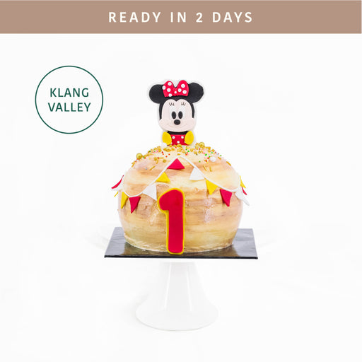 Minnie Mouse Ball Cake 6 inch - Cake Together - Online Birthday Cake Delivery