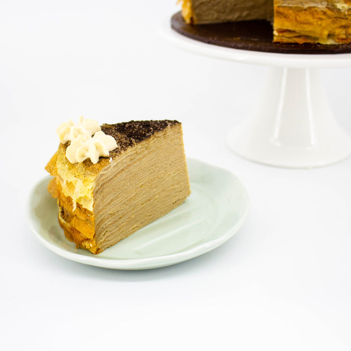 Hojicha Mille Crepe - Cake Together - Online Birthday Cake Delivery