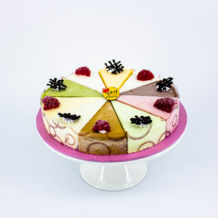 Scrumptious Ten 7 inch - Cake Together - Online Birthday Cake Delivery