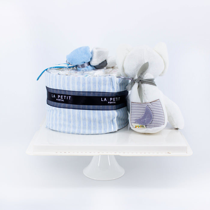 Baby Blue Diapercake - Cake Together - Online Birthday Cake Delivery