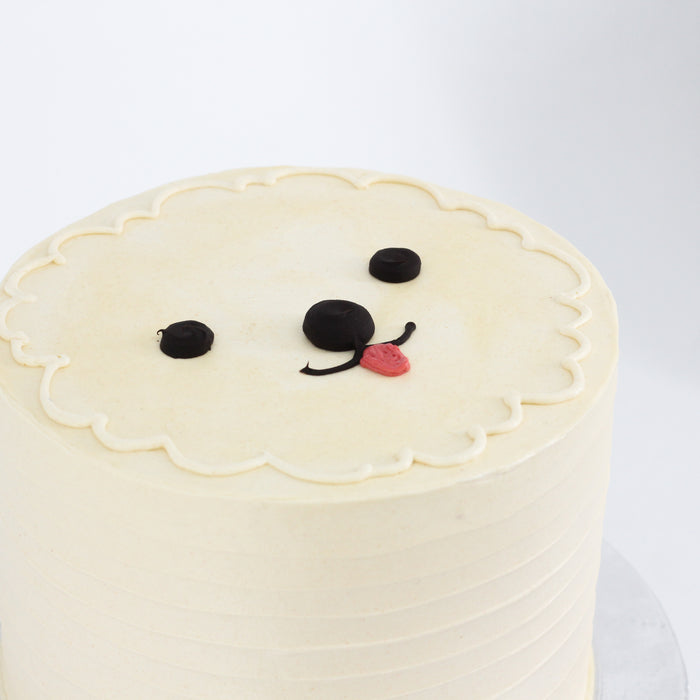 Lola The Poodle Cake 6 inch