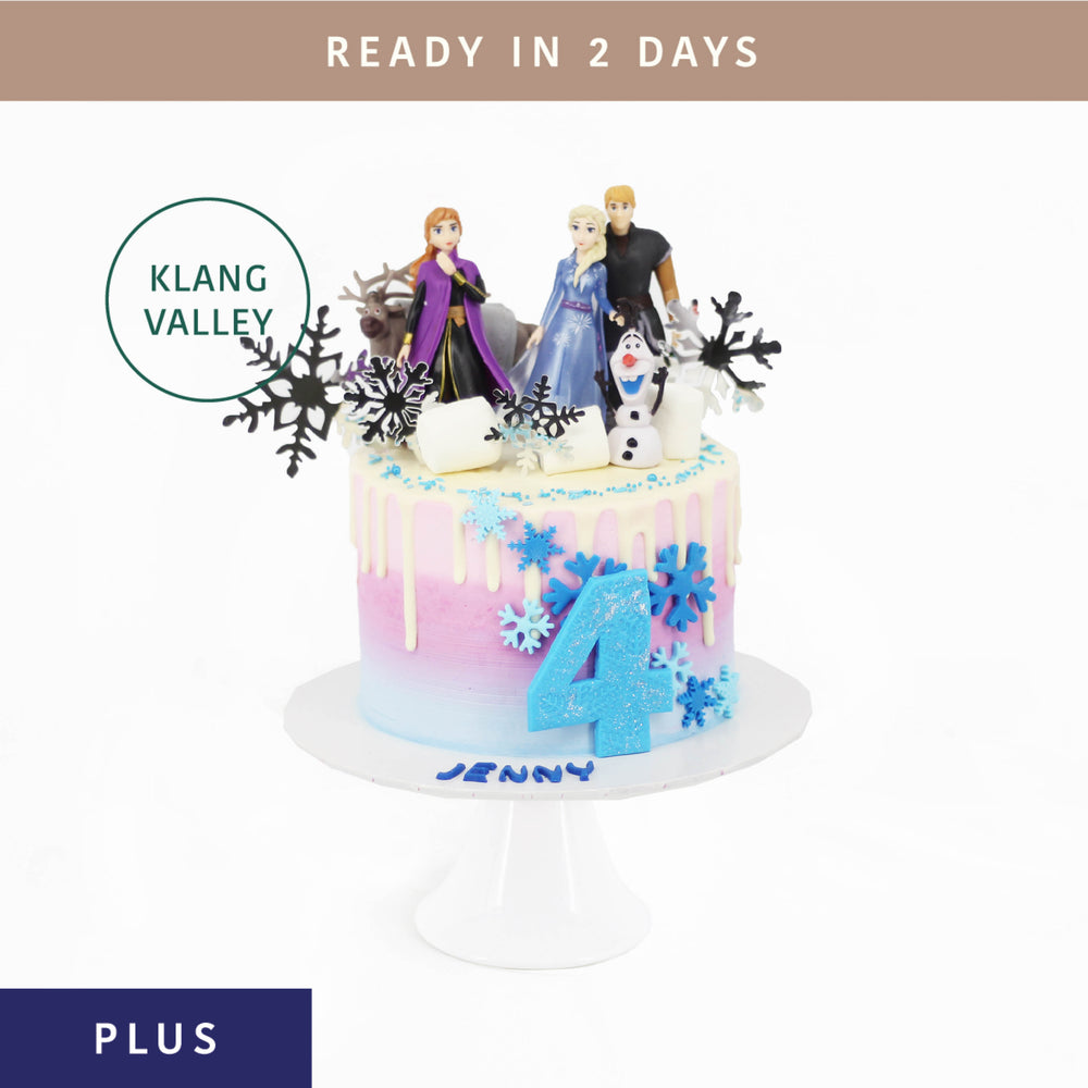 Frozen 2 Cake - Cake Together - Online Birthday Cake Delivery