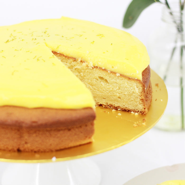 Lemon Curd Buttercake 8 inch - Cake Together - Online Birthday Cake Delivery