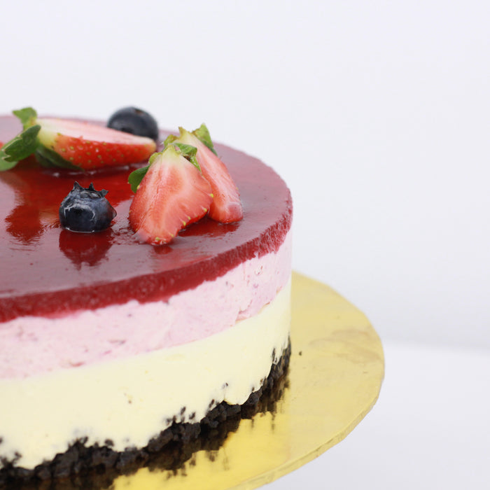 Mixed Berry Cheese Cake | Cake Together | Online Deliver