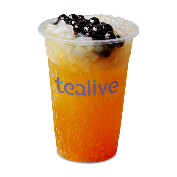 Tealive Sparkling Juice Series | Tealive x Cake Together