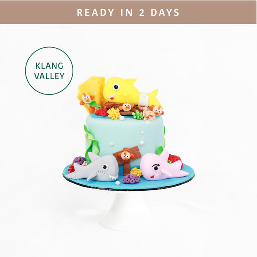 Baby Shark 5 inch - Cake Together - Online Birthday Cake Delivery