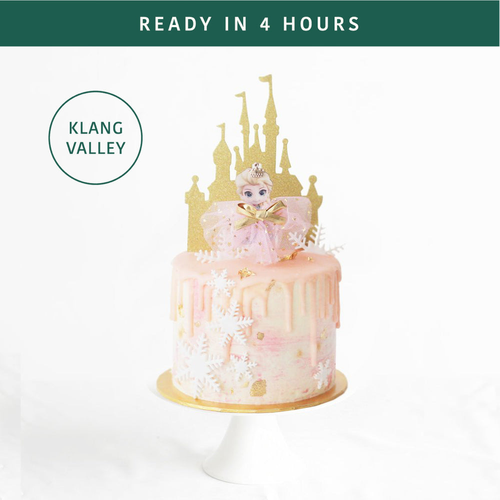 Frozen Pink 5 inch | Cake Together | Online Cake Delivery