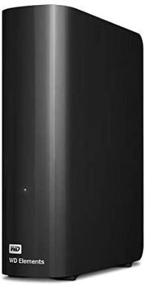 WD Elements Desktop External Hard Drive 10TB - Black