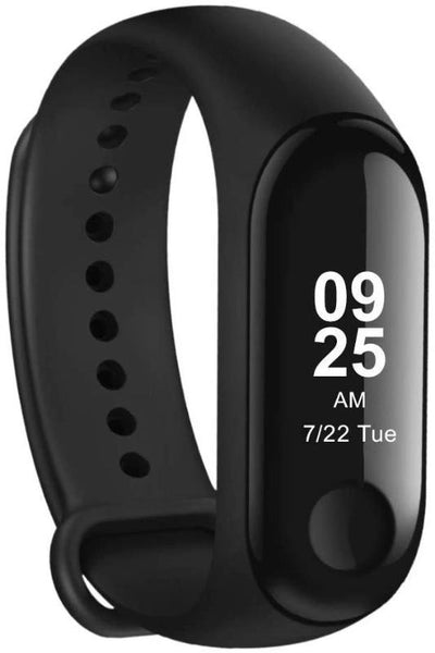 Xiaomi Mi Band 3 Bluetooth Activity Tracker (Waterproof, Heart Rate Monitor, Pedometer, Messaging Notifications) – Graphite Black