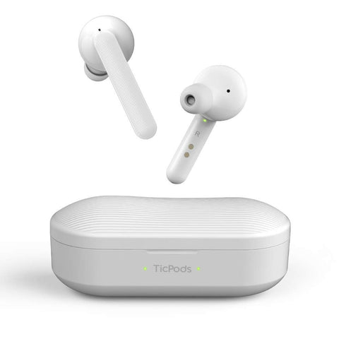 Mobvoi TicPods Free Wireless Bluetooth Earbuds  - Ice White