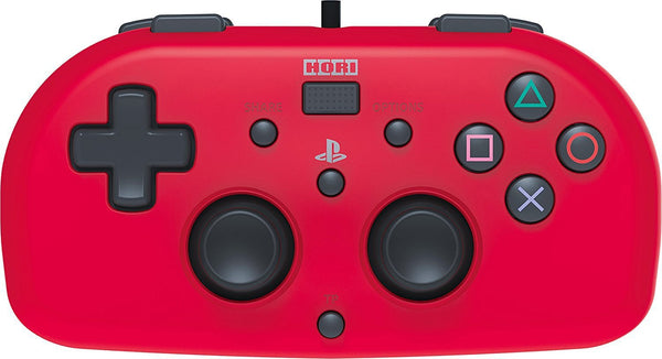 Hori PlayStation 4 Wired Controller - Officially Licensed Mini Gamepad for  Kids - Red