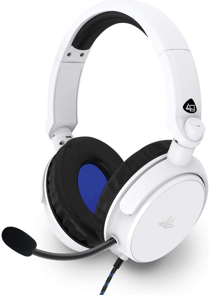 4Gamers PRO4-50s Stereo Gaming Headset - White (PS4/PS5)