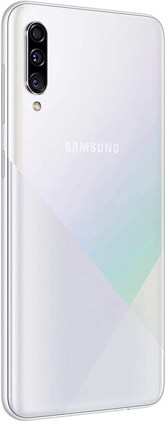 "Samsung Galaxy A30s Smartphone (64GB, 6.4""Infinity Display, Android Pie) - Prism Crush White"