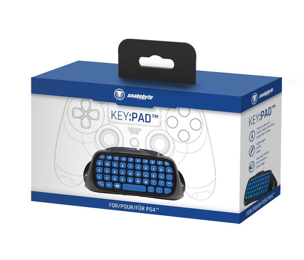 Snakebyte Key Pad for Dualshock Controller (PS4)