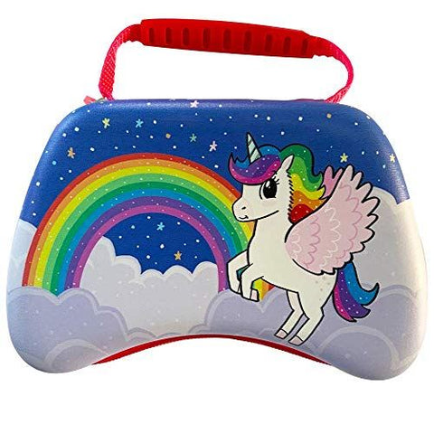 Unicorn Universal Gaming Controller Carry and Storage Case (PS4/ Xbox One/ Switch/ Stadia/ PC) (Electronic Games)
