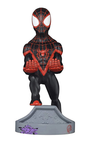 Miles Morales Spiderman Unique Collectable Device Holder - 8 inch version