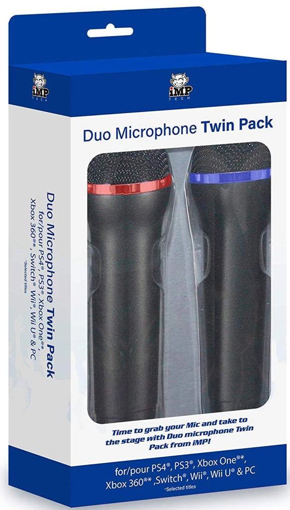 Universal Duets Twin USB Microphone Pack