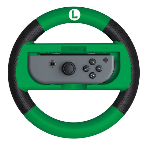 HORI Mario Kart 8 Deluxe Wheel - Luigi Version (Nintendo Switch)