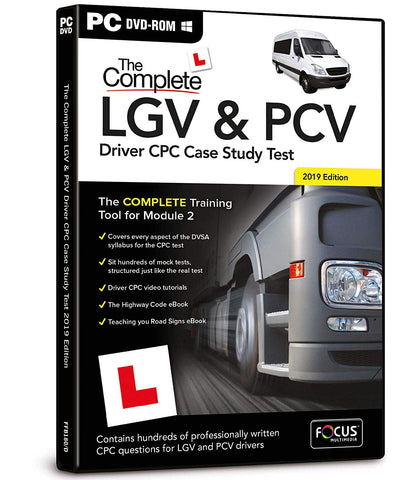 The Complete LGV and PCV Driver CPC Case Study Test (PC DVD)