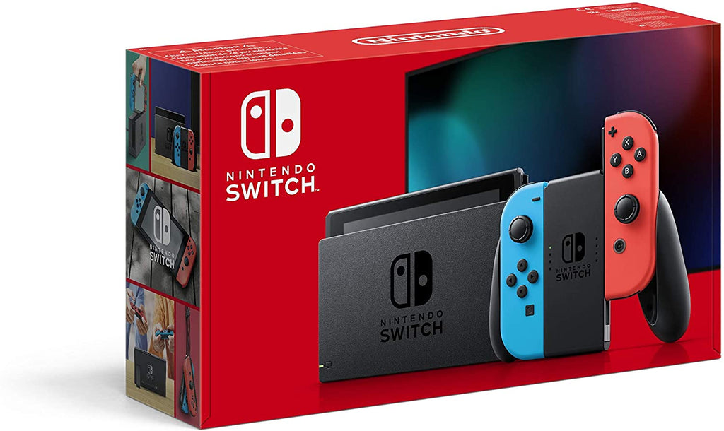 Nintendo Switch 1.1 - Neon Red / Neon Blue