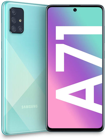 "Samsung Galaxy A71 (128GB, 6.7"" AMOLED display, Andoid) - Prism Crush Blue"