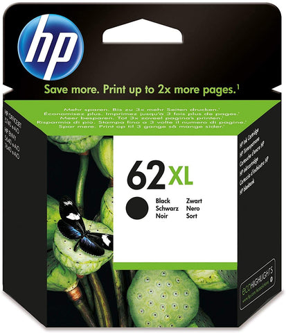 HP 62XL Black Original Ink Cartridge (C2P05AE)