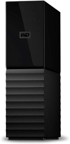 WD My Book Desktop Hard Drive 6TB (USB 3.0,Password Protection, Auto Backup)  - Black