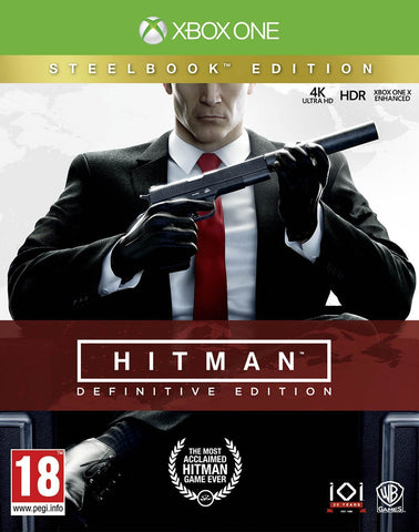 Hitman Definitive Edition - Steelbook Edition (Xbox One)