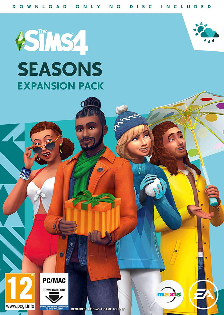 The Sims 4 Seasons (PC DVD - Download Code)