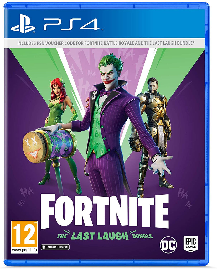 Fortnite: The Last Laugh Bundle (PS4*)