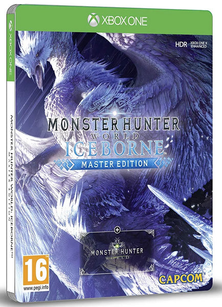 Monster Hunter World; Iceborne - Master Edition Steelbook (Xbox One)