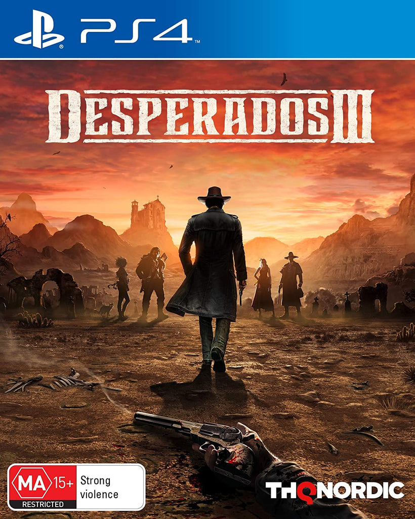 Desperados 3 - PS4 (PS4)