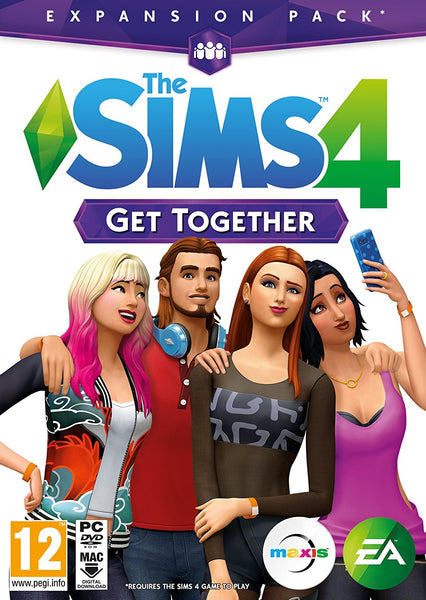The Sims 4 Get Together Expansion Pack (PC DVD)