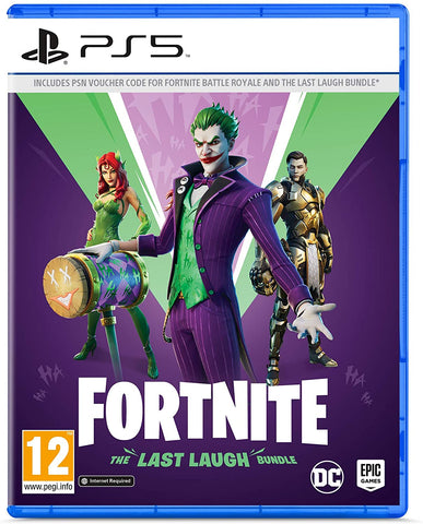 Fortnite: The Last Laugh Bundle (PS5*)[NXTech]