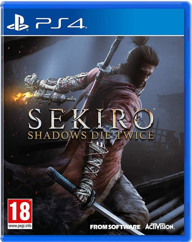 Sekiro Shadows Die Twice (PS4)