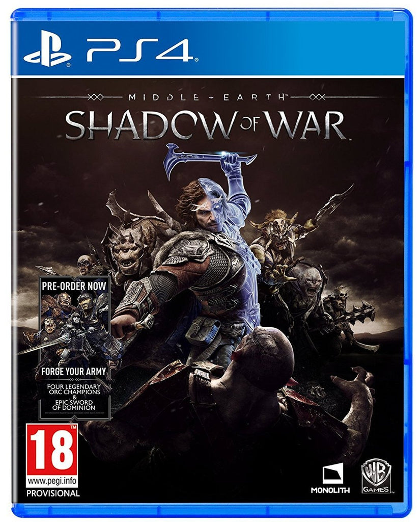 Middle-Earth: Shadow of War (PS4)