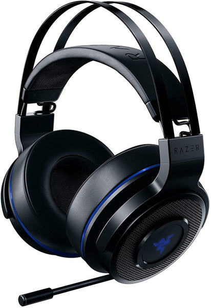 Razer Thresher 7.1 Wireless Gaming Headset - Black & Blue (PS4 / PC)