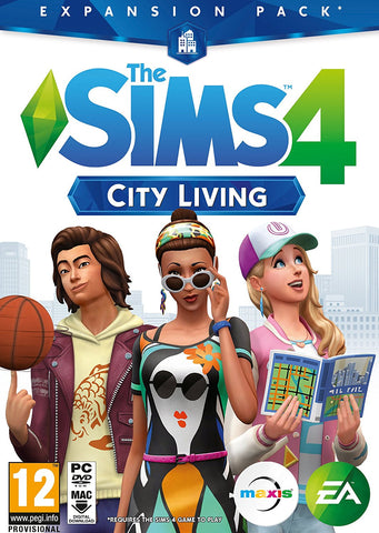 The Sims 4 City Living Expansion Pack (PC DVD)