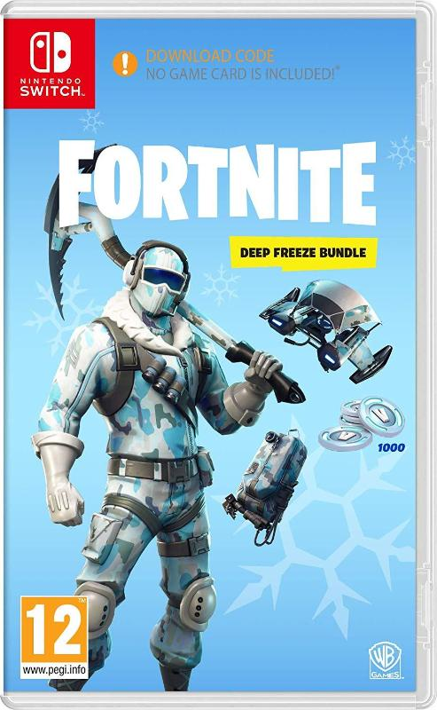 Fortnite: Deep Freeze Bundle (Nintendo Switch - Download Code)