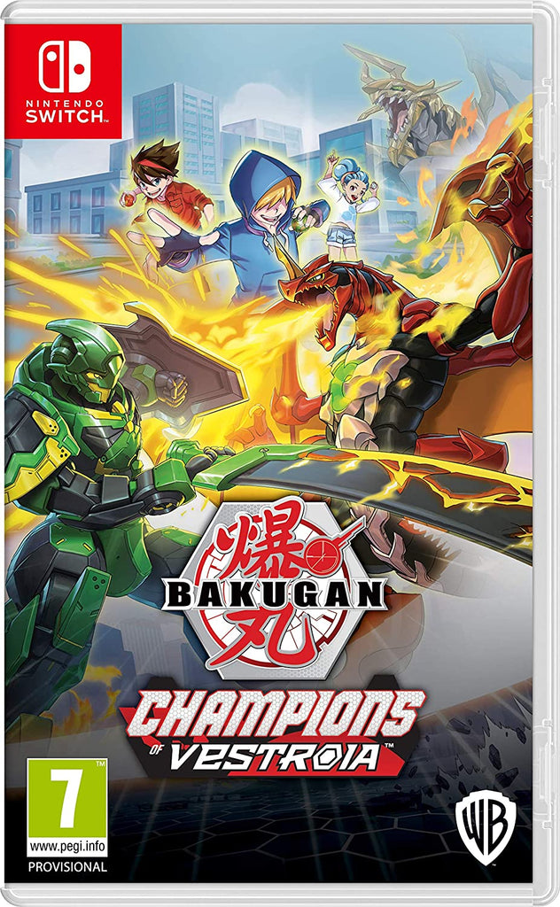 Bakugan Champions Of Vestroia (Nintendo Switch)
