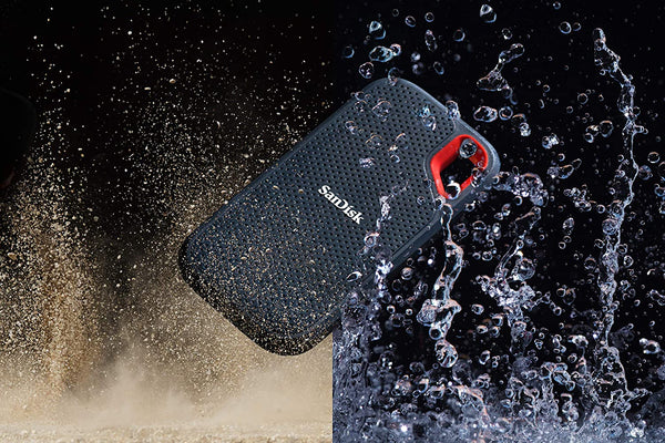 SanDisk Extreme Portable SSD 1TB - Black