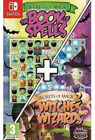 Secrets of Magic 1 and 2 (Nintendo Switch)