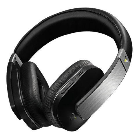 iT7 Audio iT7x2i Wireless Bluetooth Headphone - Black