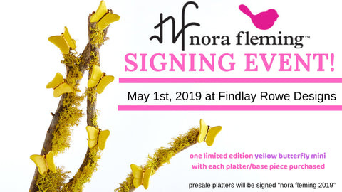 2019 Nora Fleming Signing Event at Findlay Rowe Designs Roswell, GA