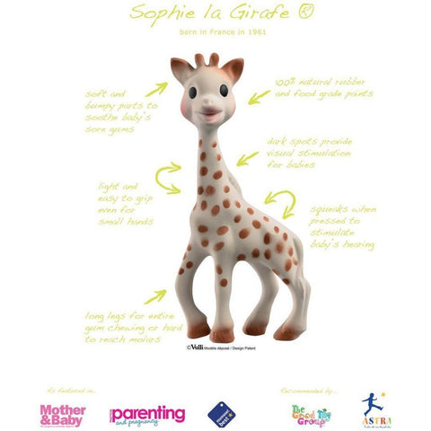 Sophie la girafe in So'Pure box