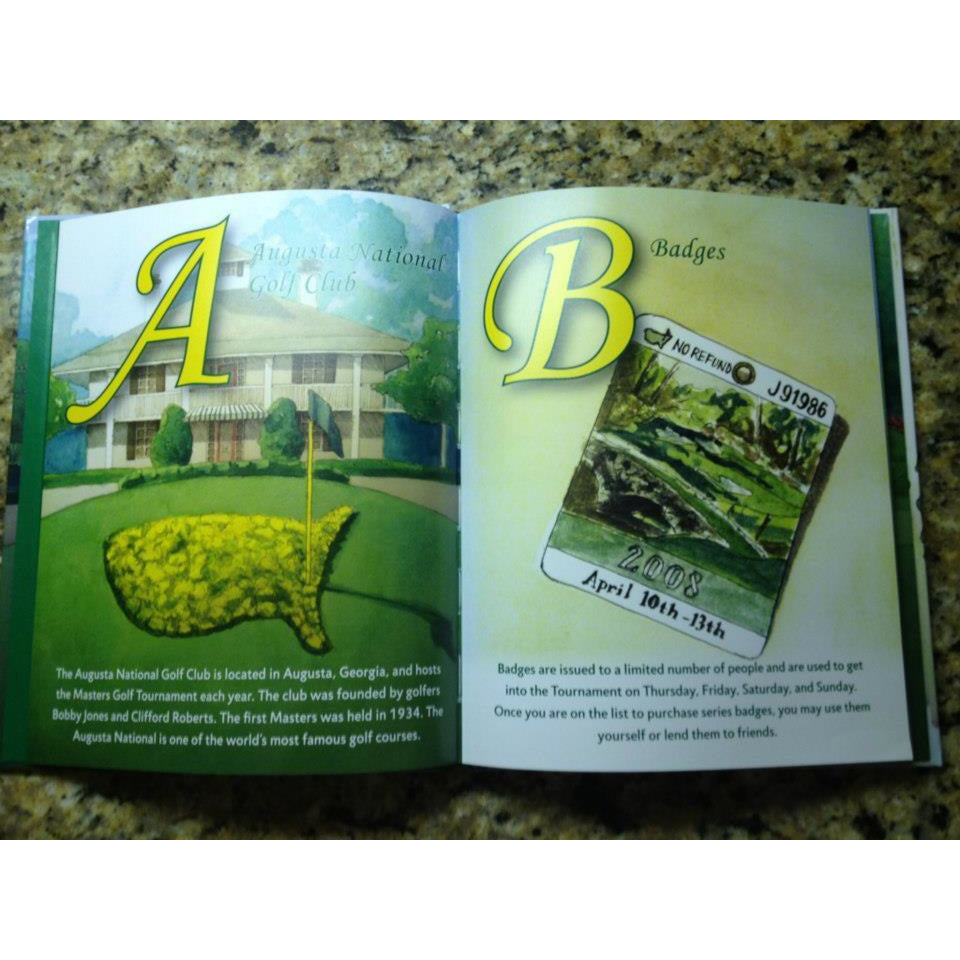 Badges, Egg Salad, and Green Jackets: The Masters A to Z - Autograph copy