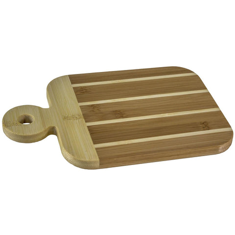 Bamboo Paddle-Shaped Bar Prep Board
